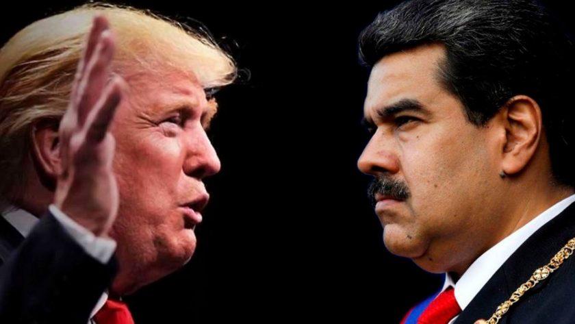 Nicolas Maduro y Donal Trump
